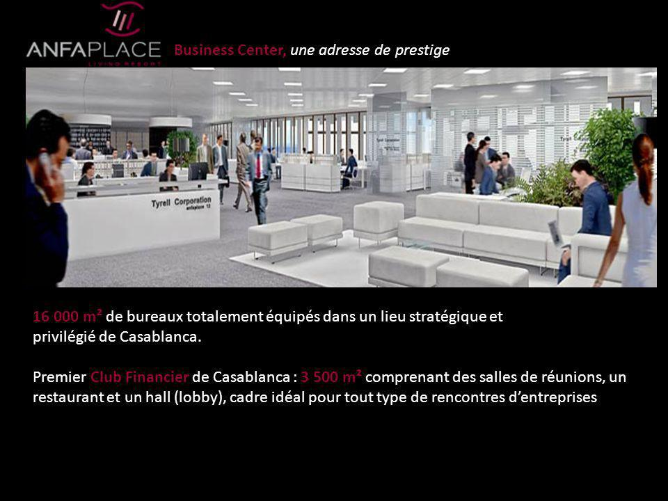 Business Center, une adresse de prestige