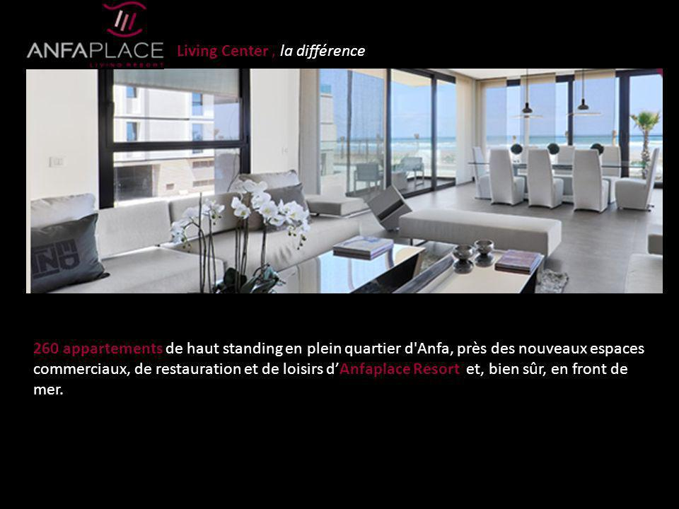 Living Center , la différence