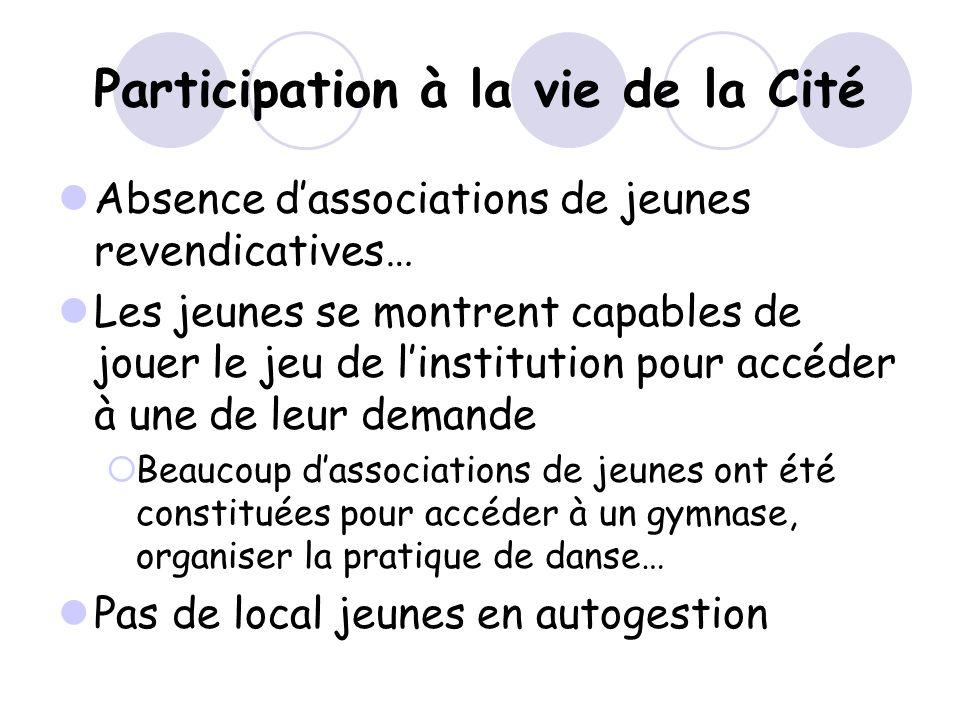 Participation à la vie de la Cité