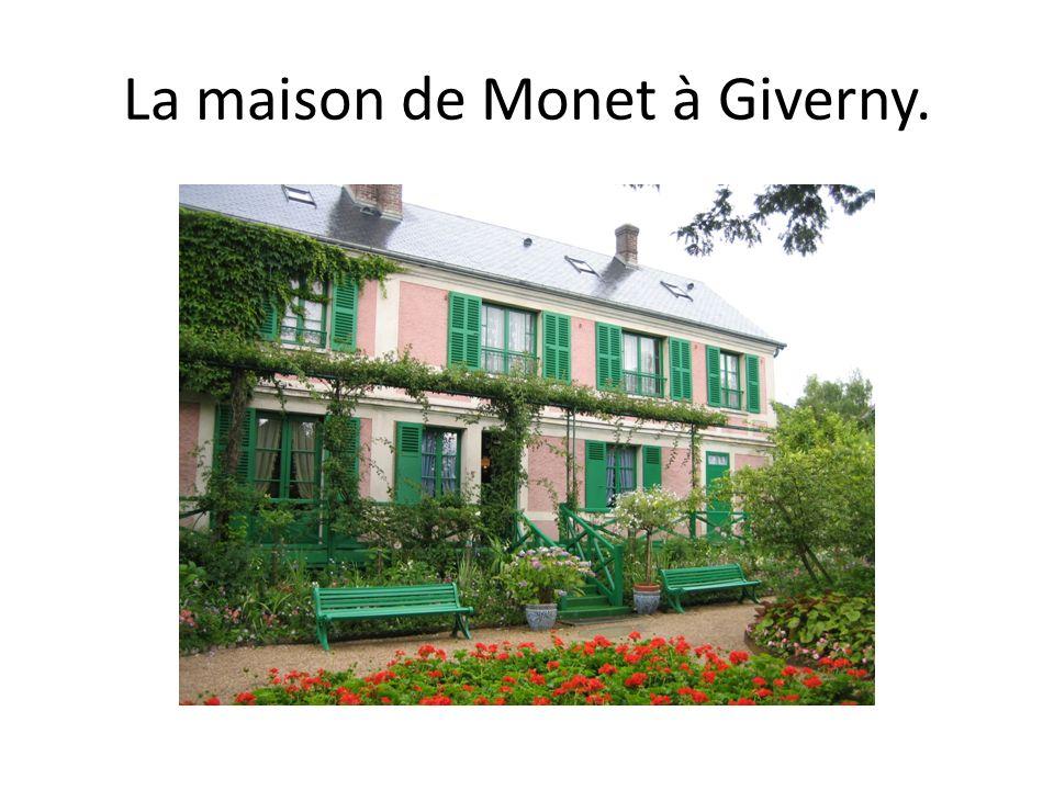 La maison de Monet à Giverny.