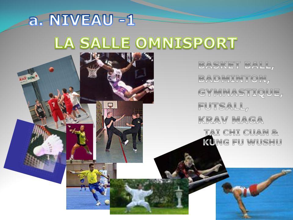 a. NIVEAU -1 LA SALLE OMNISPORT