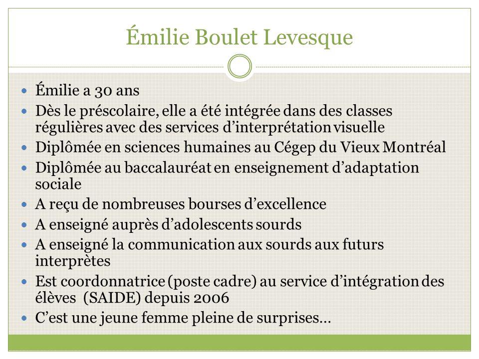Émilie Boulet Levesque