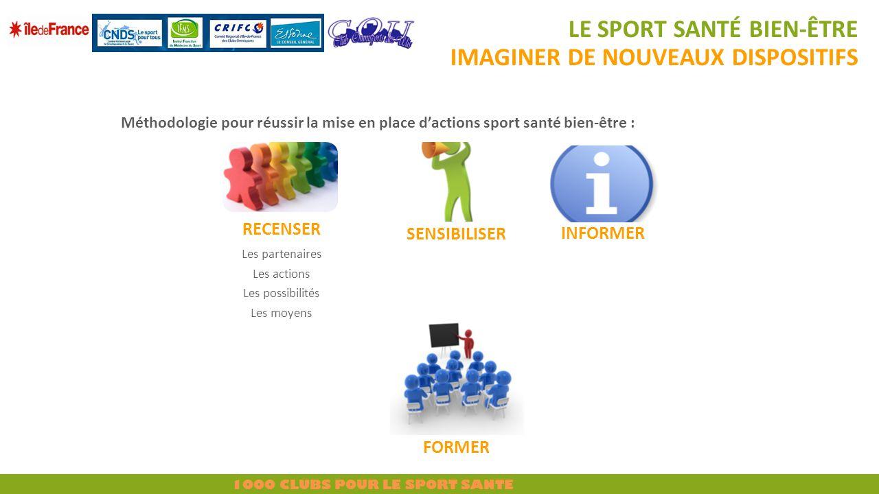 Le sport santé bien-être imaginer de nouveaux dispositifs