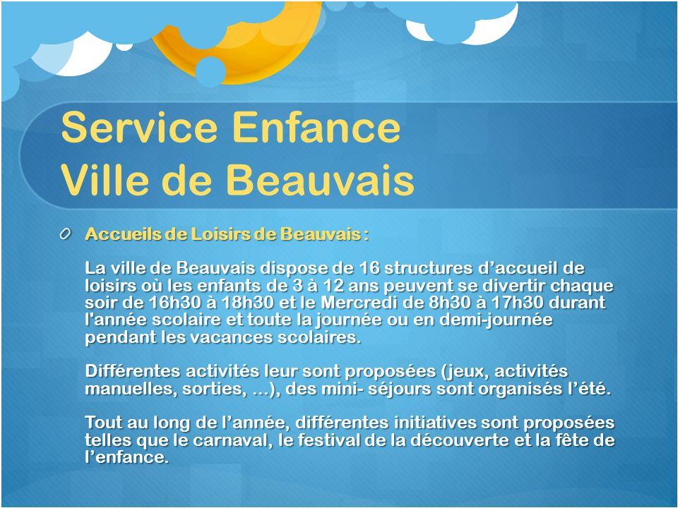Service Enfance Ville de Beauvais