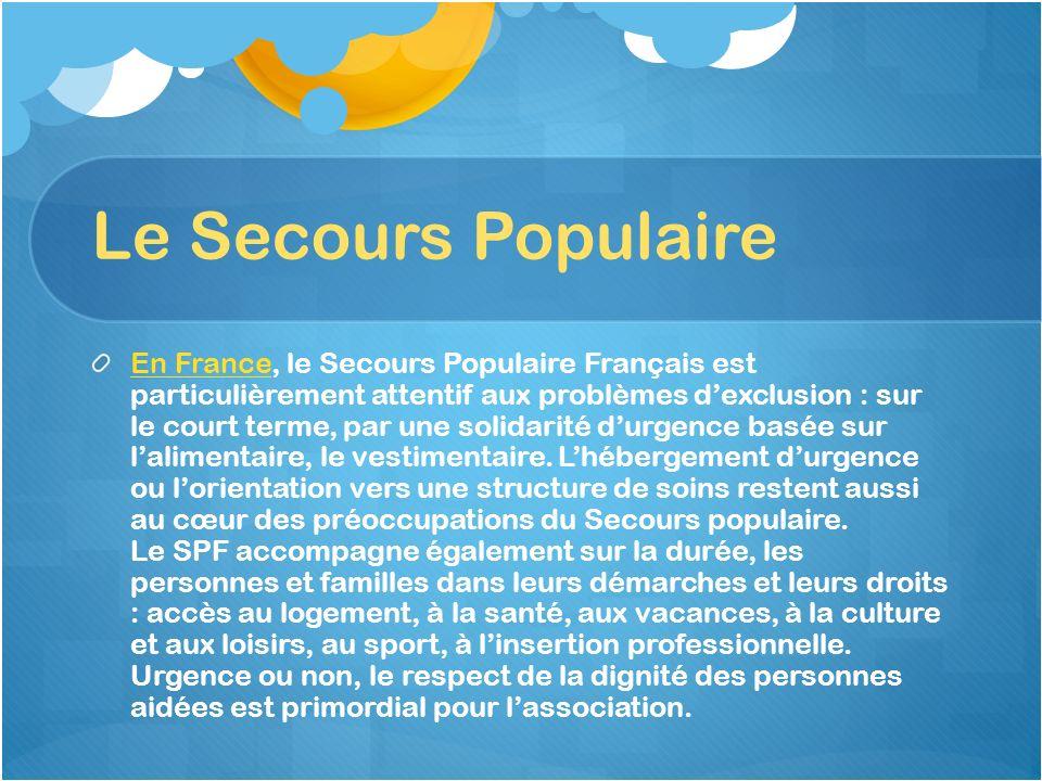 Le Secours Populaire