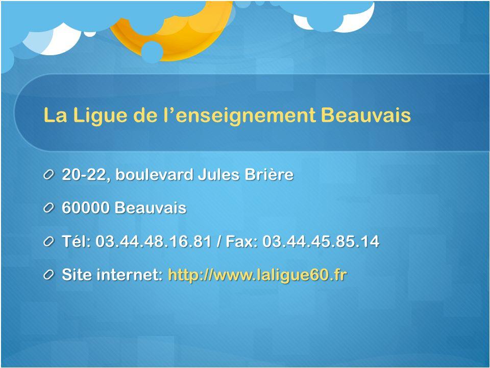 La Ligue de l'enseignement Beauvais