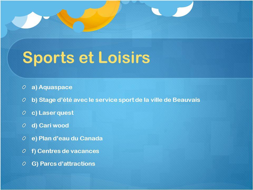 Sports et Loisirs a) Aquaspace