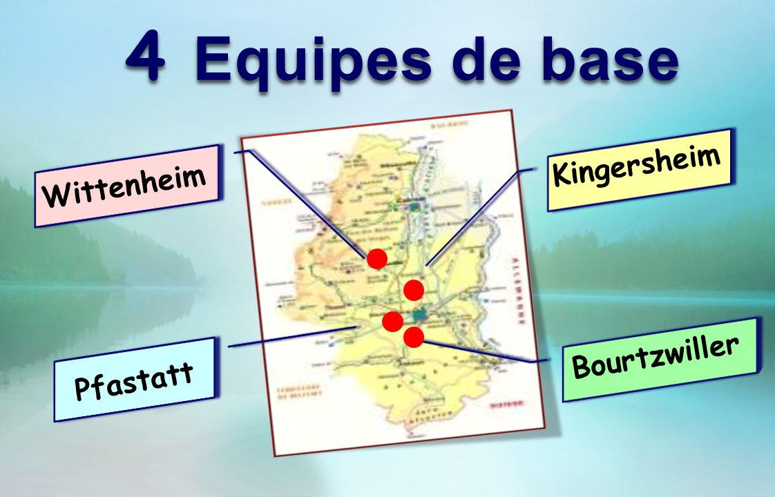 4 Equipes de base Kingersheim Wittenheim Bourtzwiller Pfastatt