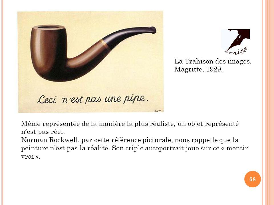 La Trahison des images, Magritte, 1929.