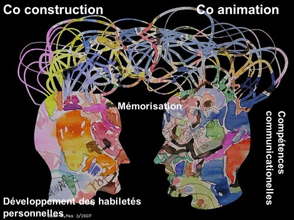 Co construction Co animation Mémorisation