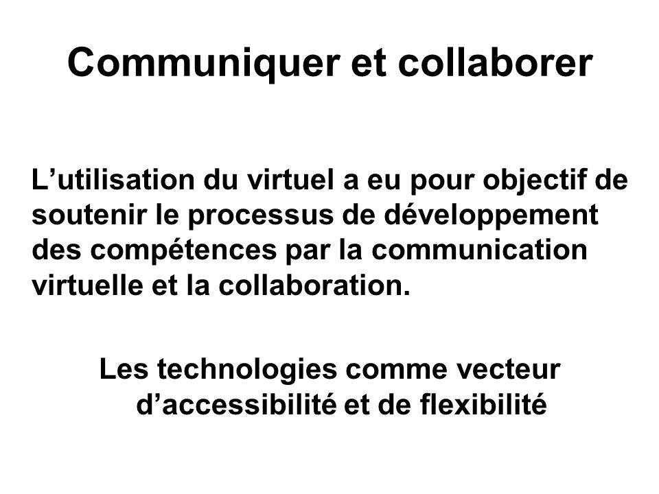 Communiquer et collaborer