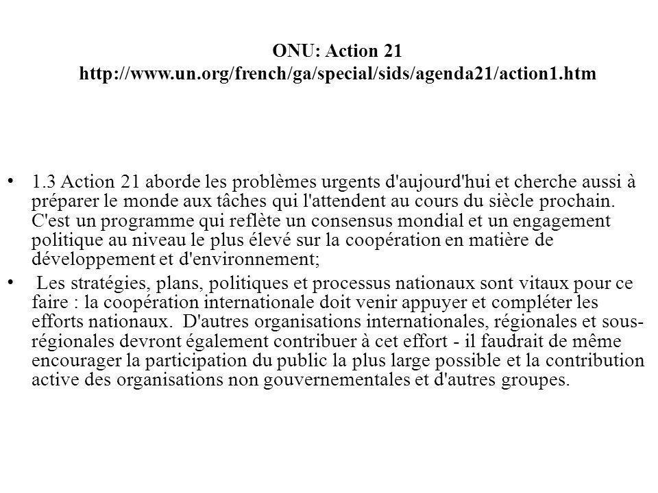 ONU: Action 21 http://www. un