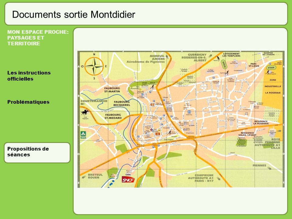 Documents sortie Montdidier