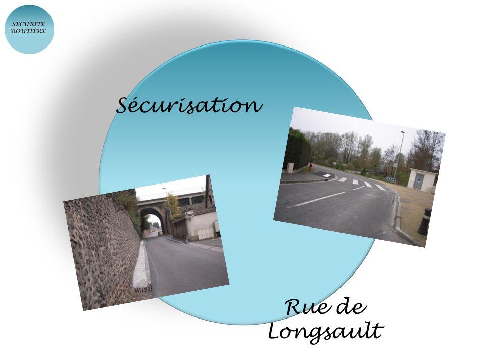 Sécurisation Rue de Longsault