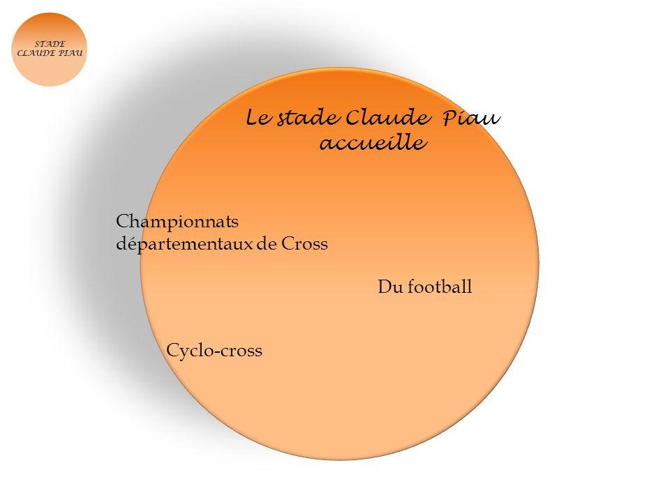Le stade Claude Piau accueille