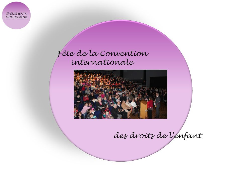 Fête de la Convention internationale