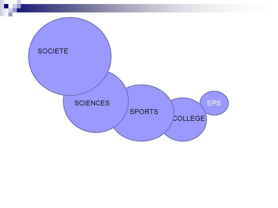 SOCIETE EPS SCIENCES SPORTS COLLEGE