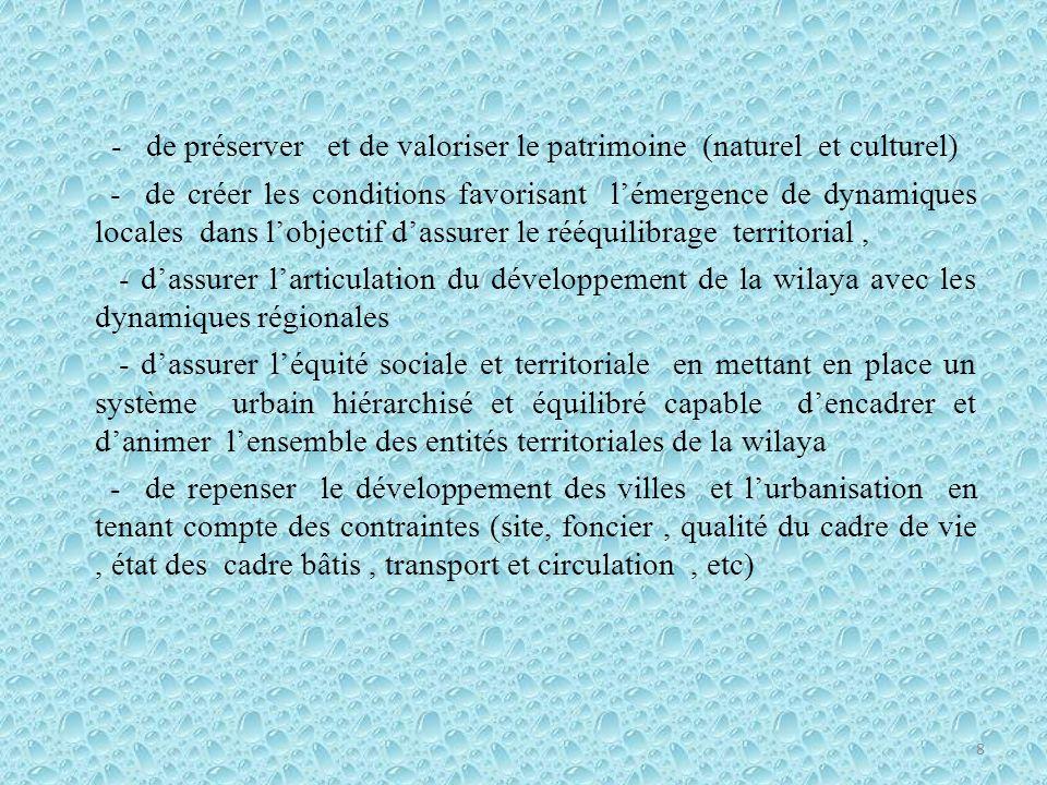 - de préserver et de valoriser le patrimoine (naturel et culturel)