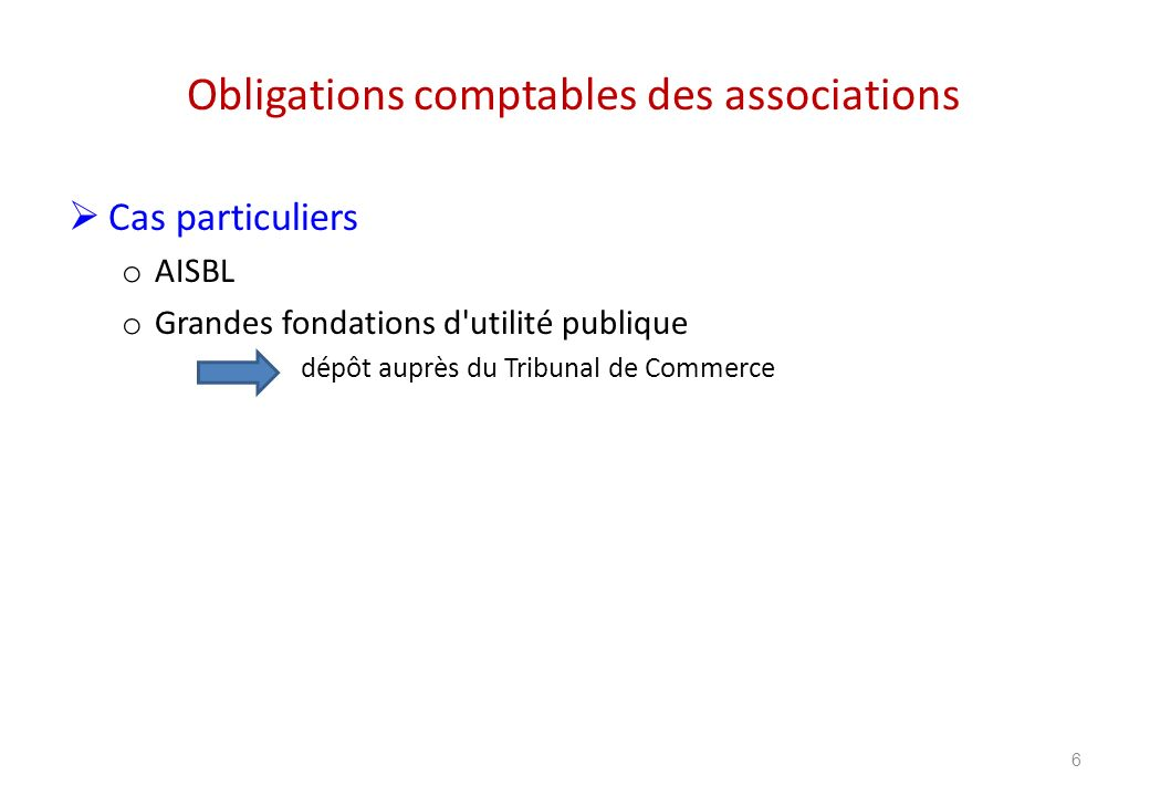 Obligations comptables des associations