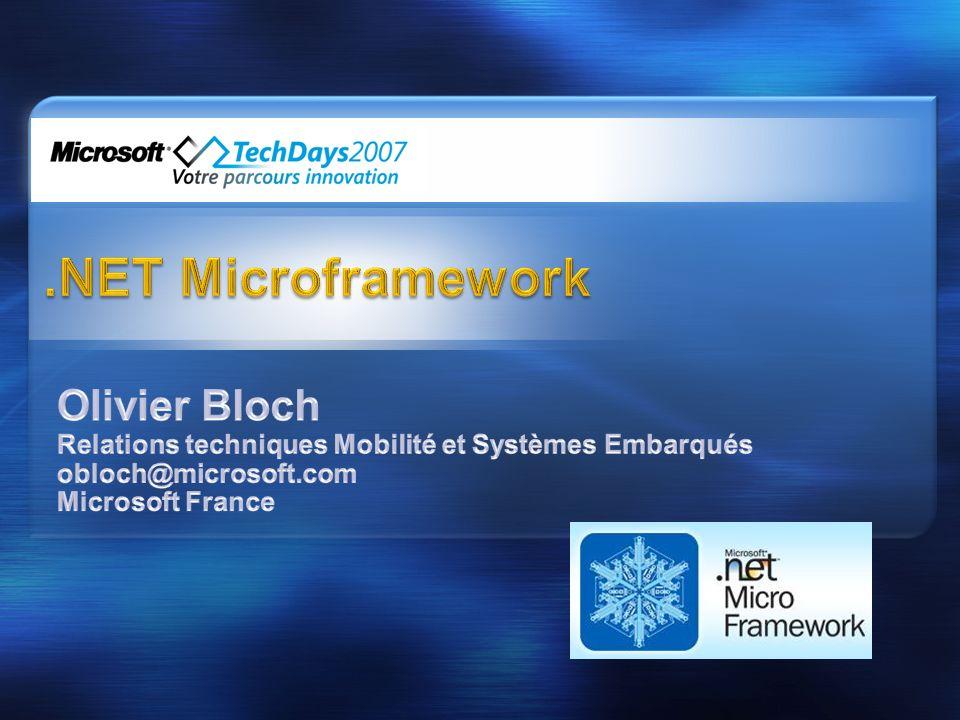 .NET Microframework Olivier Bloch
