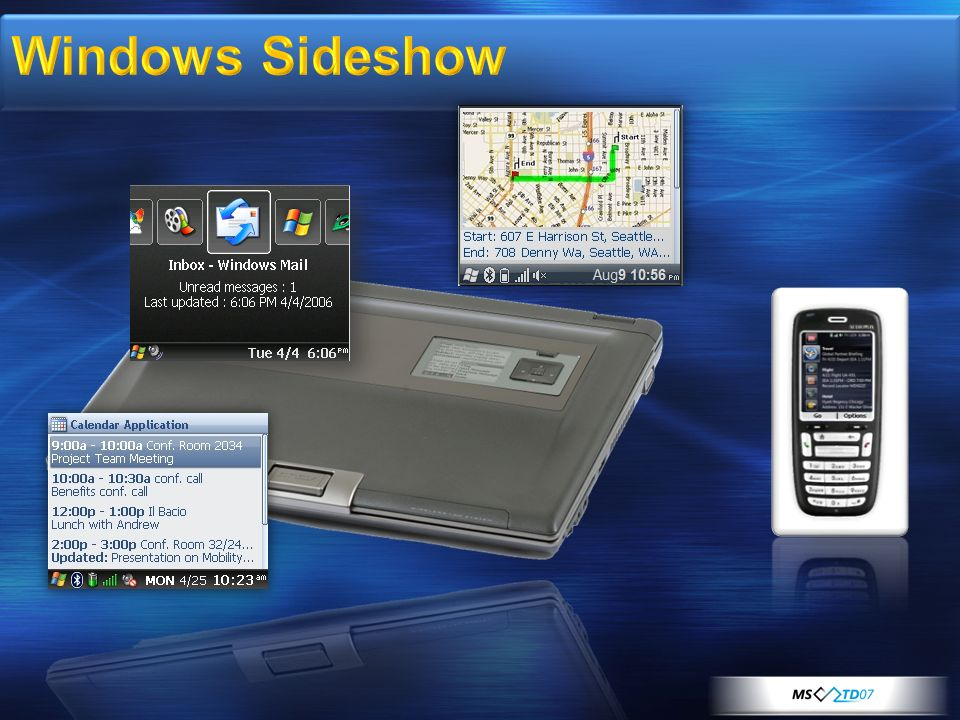 Windows Sideshow