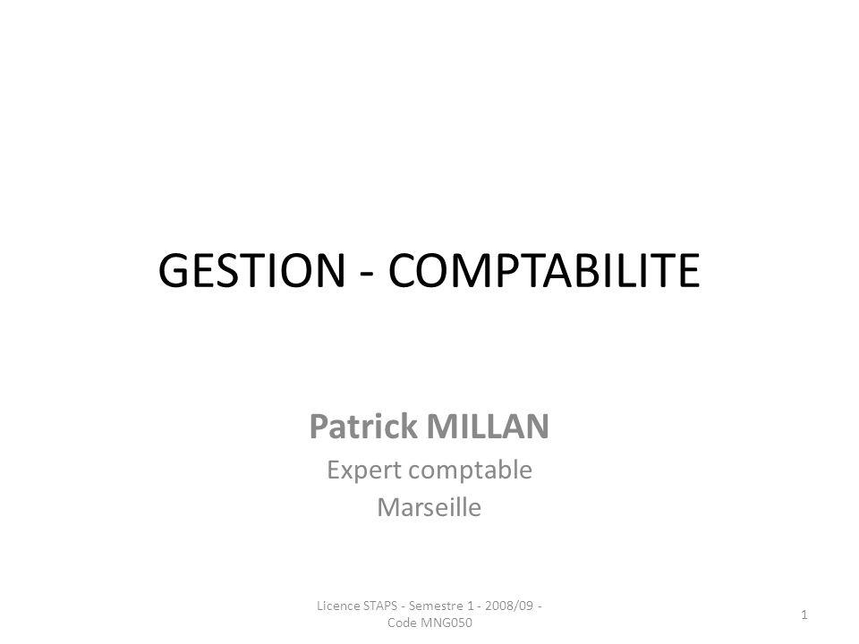 GESTION - COMPTABILITE