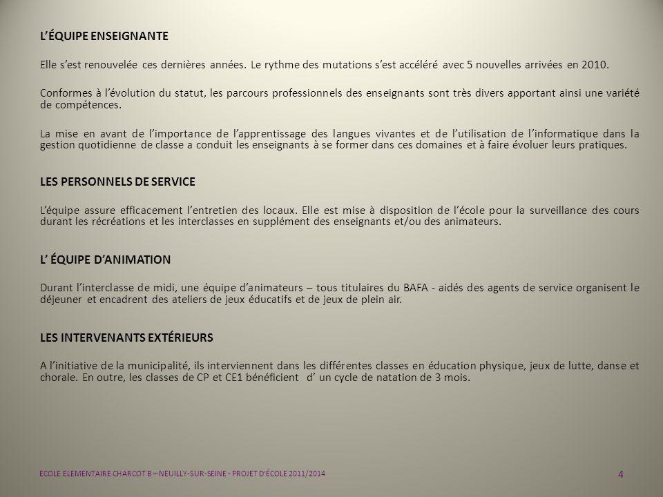 LES PERSONNELS DE SERVICE