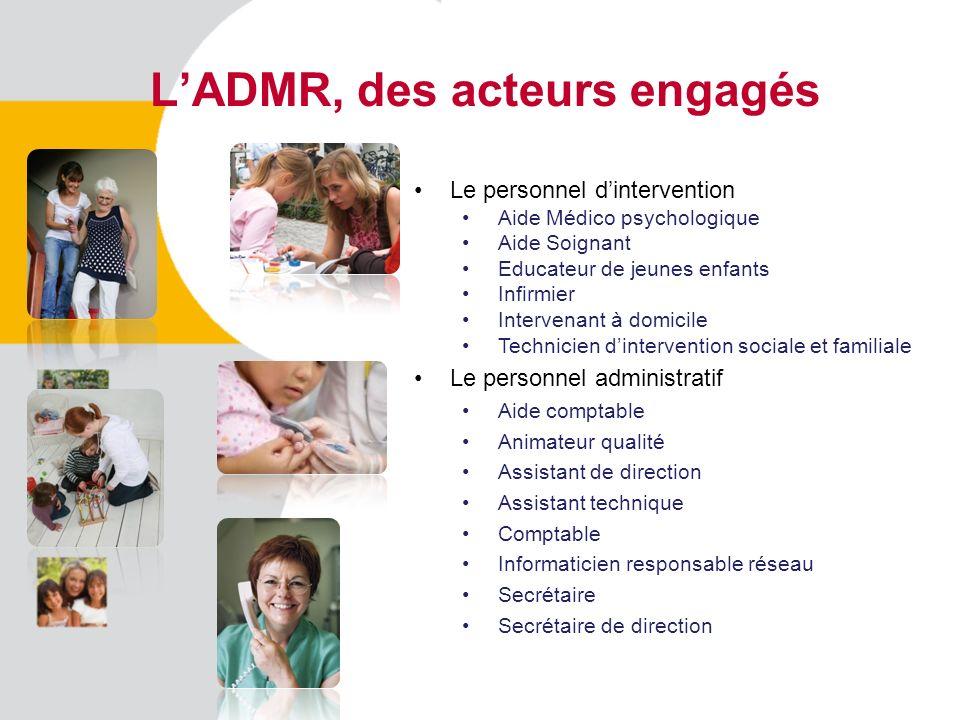 L'ADMR, des acteurs engagés