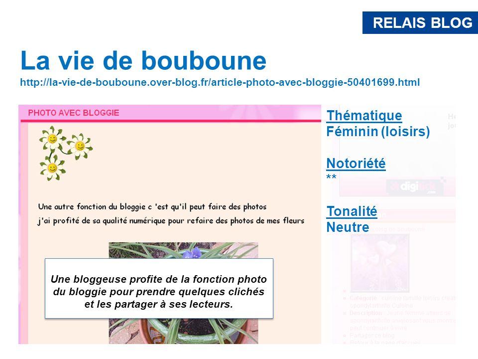 RELAIS BLOGLa vie de bouboune. http://la-vie-de-bouboune.over-blog.fr/article-photo-avec-bloggie-50401699.html.