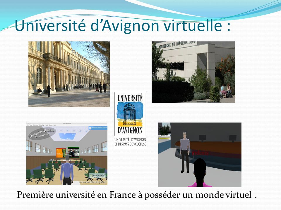 Université d'Avignon virtuelle :