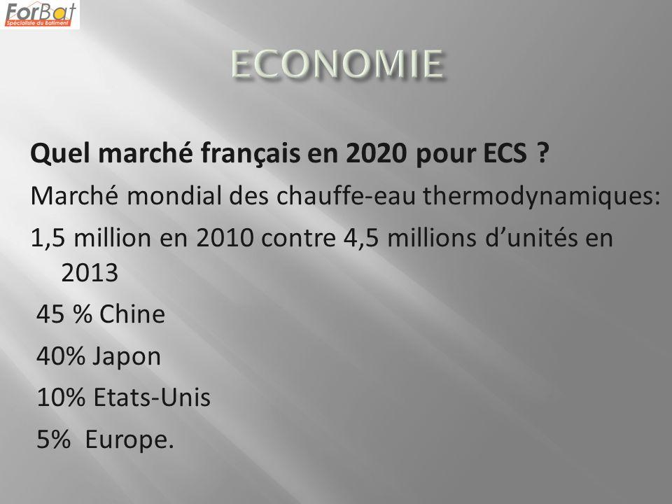 ECONOMIE Quel marché français en 2020 pour ECS