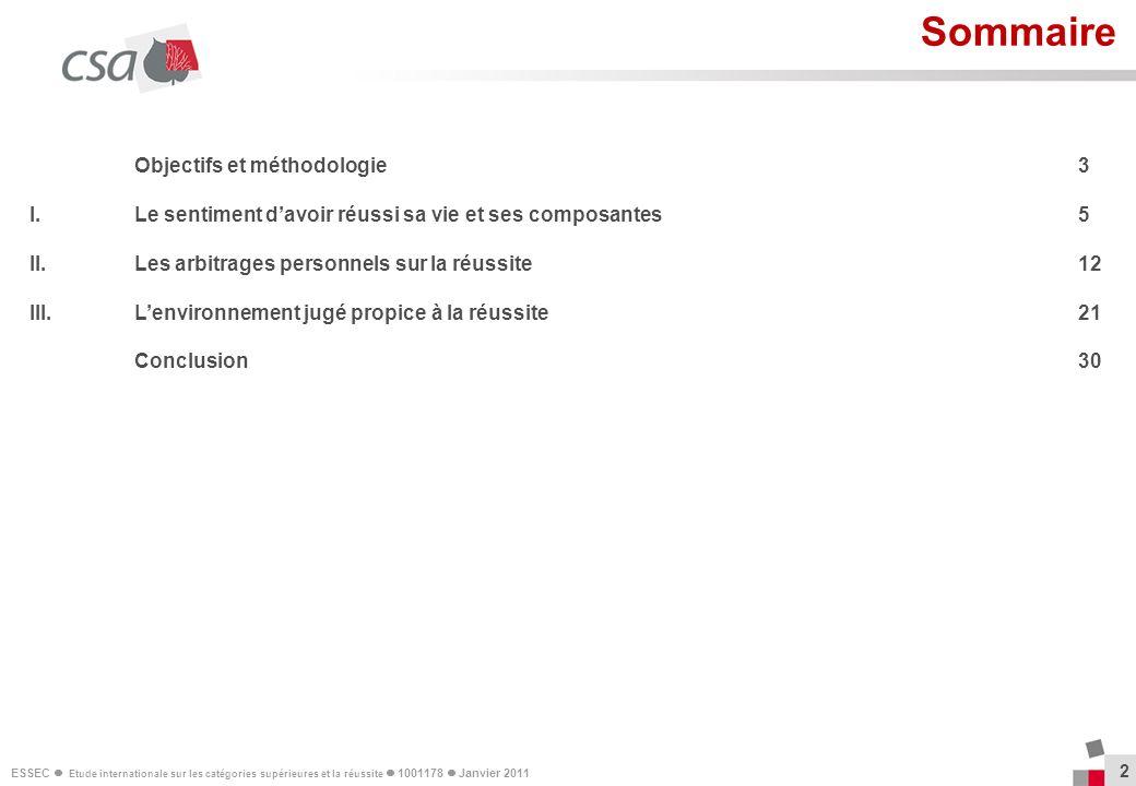 Sommaire Objectifs et méthodologie 3