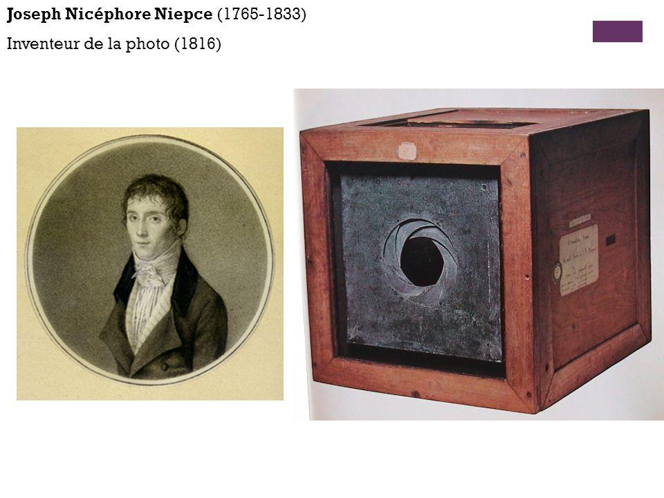 Joseph Nicéphore Niepce (1765-1833)