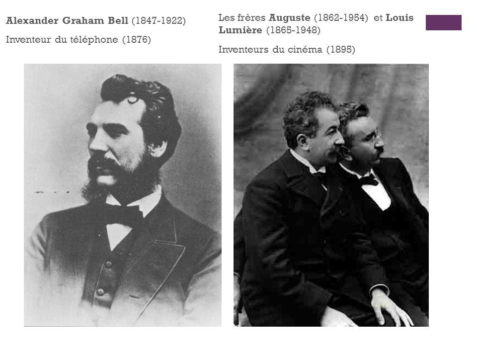 Les frères Auguste (1862-1954) et Louis Lumière (1865-1948)