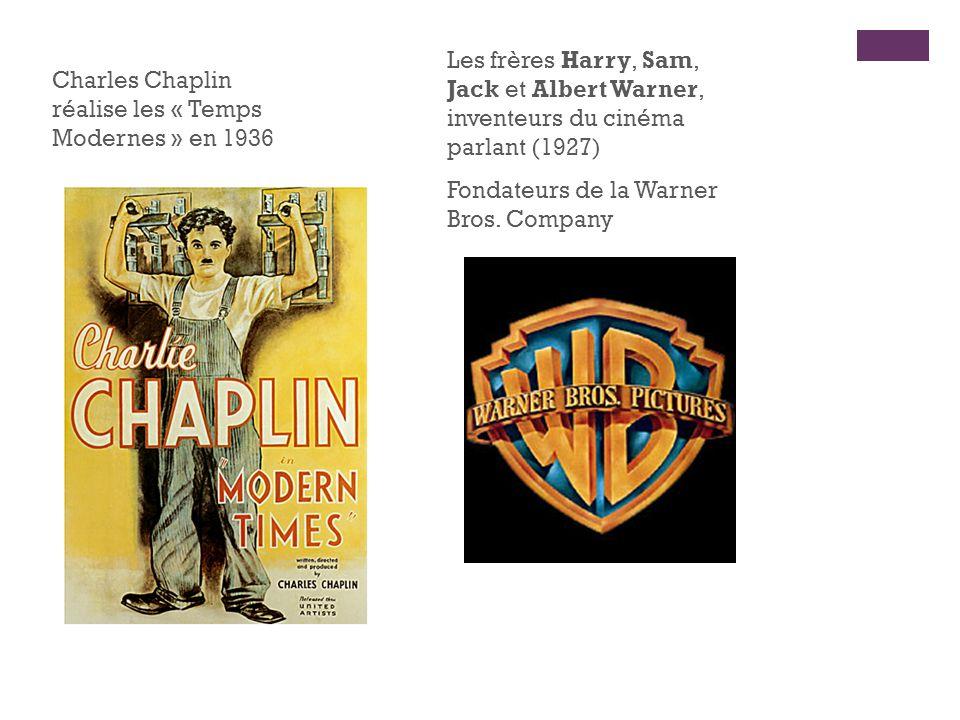 Les frères Harry, Sam, Jack et Albert Warner, inventeurs du cinéma parlant (1927)