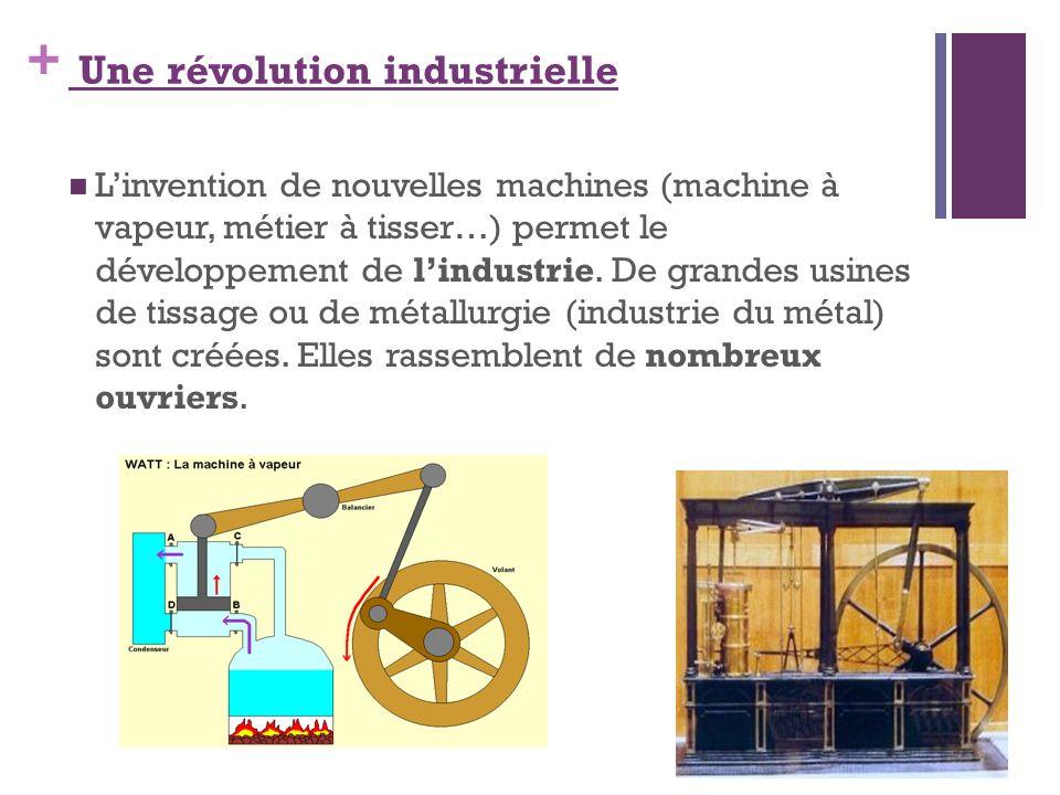 Une révolution industrielle