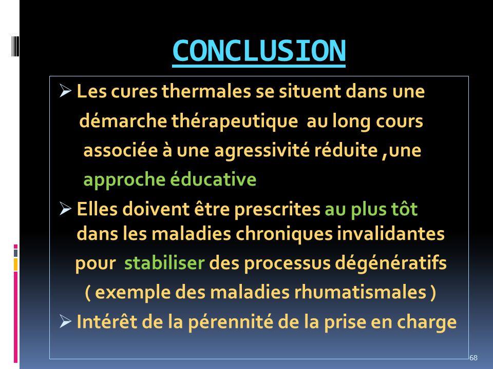 ( exemple des maladies rhumatismales )