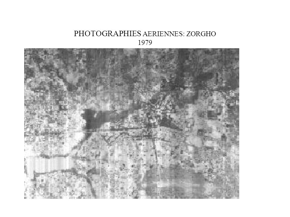 PHOTOGRAPHIES AERIENNES: ZORGHO 1979