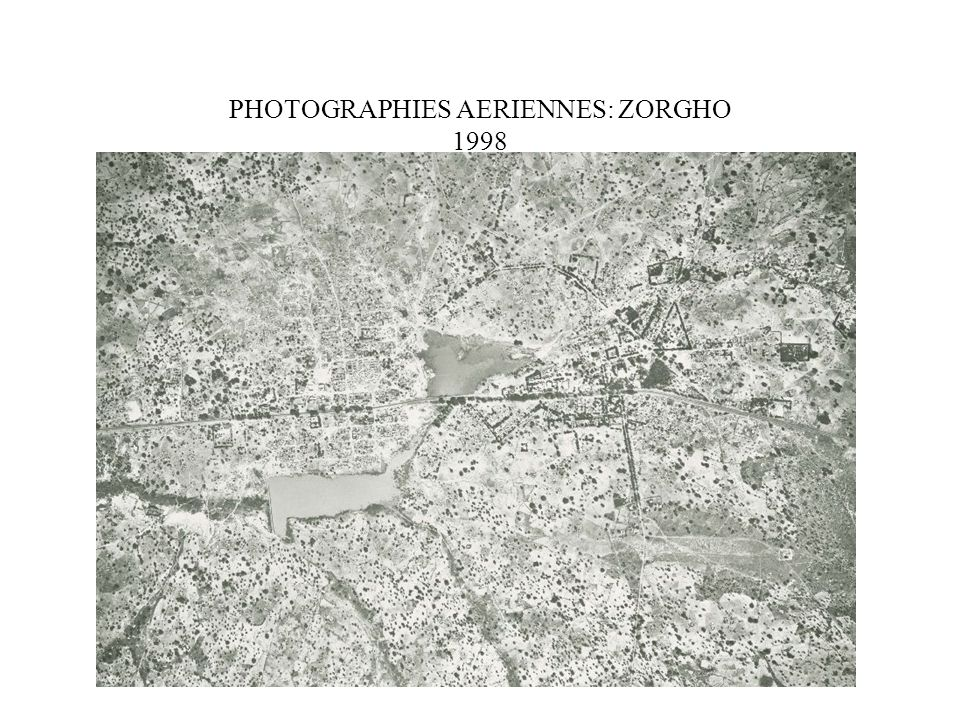 PHOTOGRAPHIES AERIENNES: ZORGHO 1998