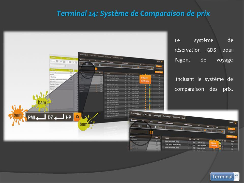 Terminal 24: Système de Comparaison de prix