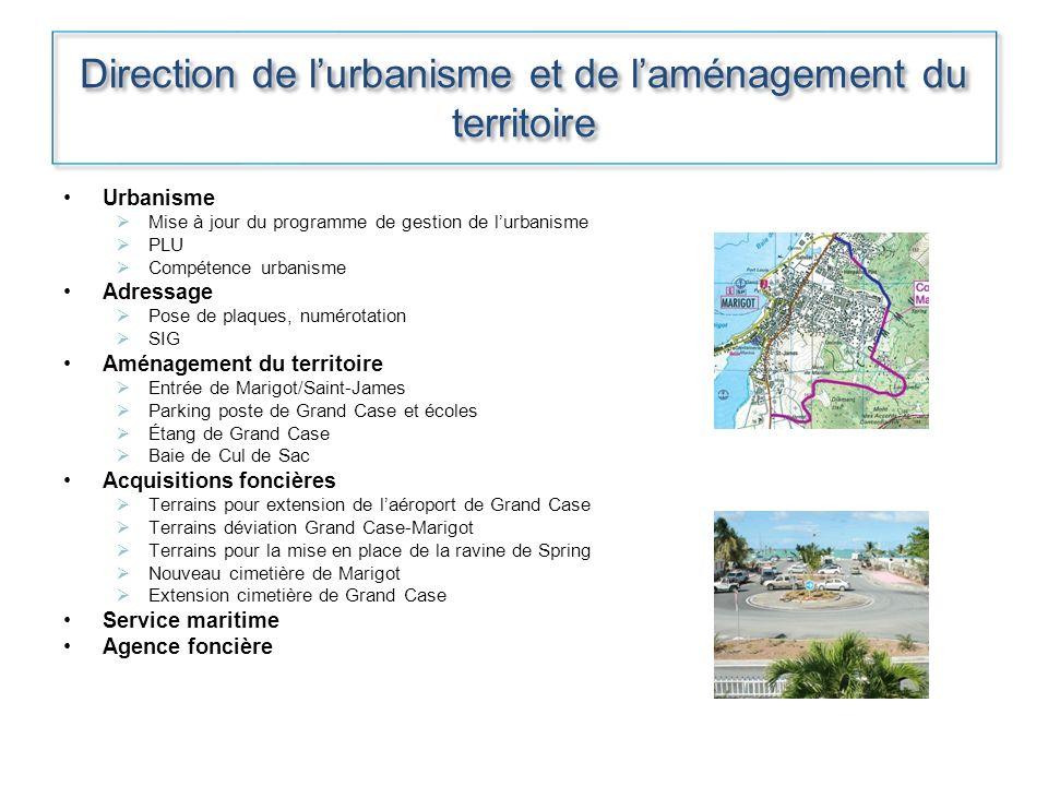 Direction de l'urbanisme et de l'aménagement du territoire