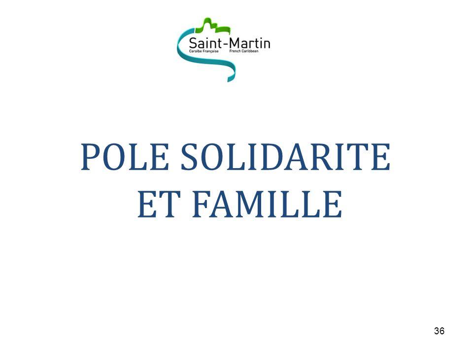 POLE SOLIDARITE ET FAMILLE