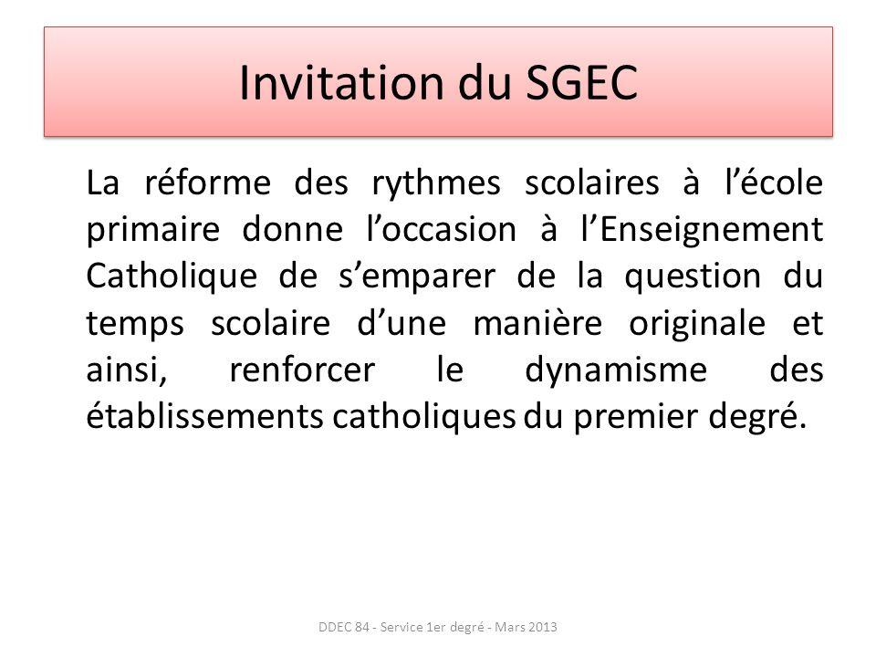 DDEC 84 - Service 1er degré - Mars 2013