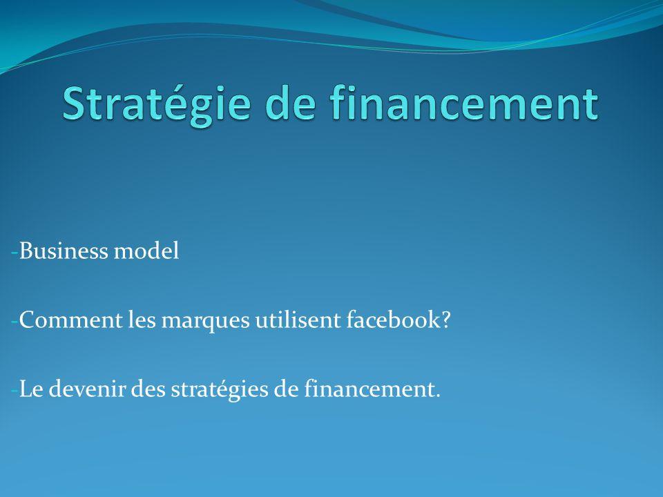 Stratégie de financement