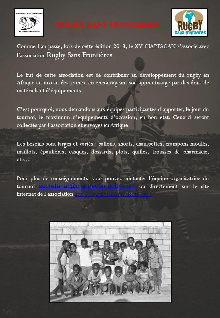 RUGBY SANS FRONTIERES