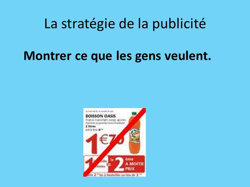 La stratégie de la publicité