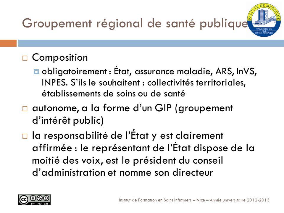 Groupement régional de santé publique