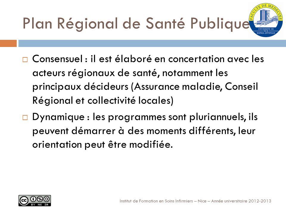 Plan Régional de Santé Publique