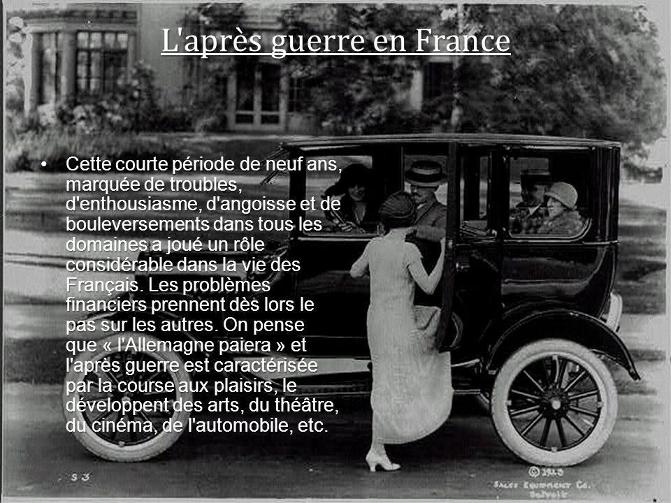 L après guerre en France