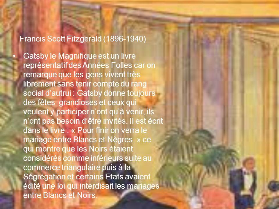 Francis Scott Fitzgerald (1896-1940)